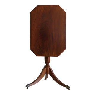 Antique Tilt-Top Mahogany Tripod Table