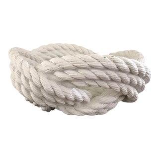 Cast Ceramic Rope Bowl