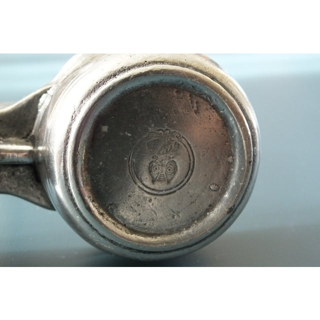 Arte Italica Tavola Pewter Salt & Pepper W/Caddy - Image 7 of 8