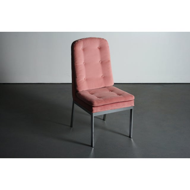 Milo Baughman for DIA Blush Dining Chairs - S/6 - Image 10 of 12