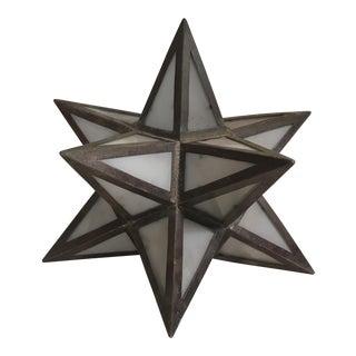 Geometric Metal Light Shade