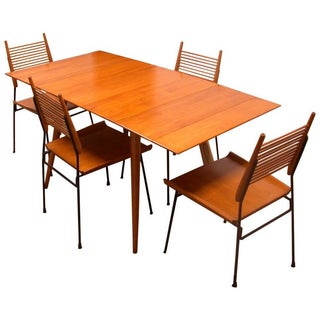 Vintage Paul McCobb Planner Group Dining Table Set