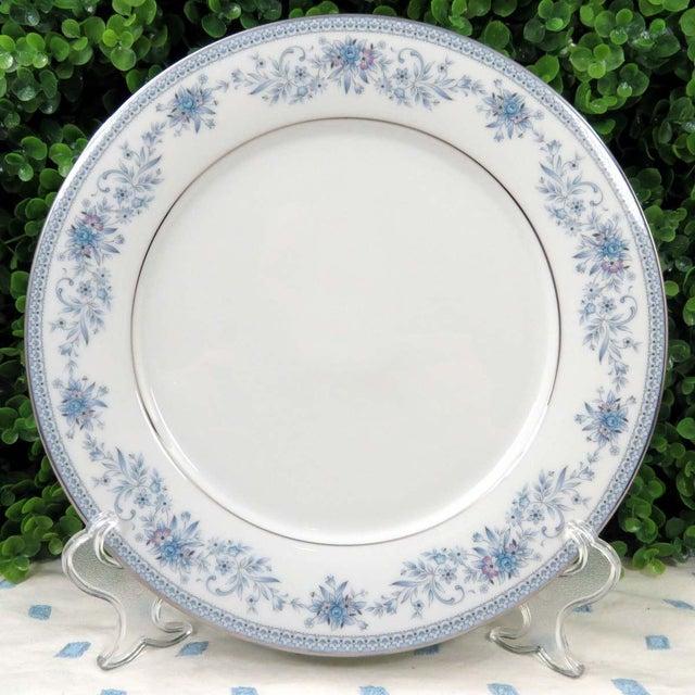 Vintage Mismatched Fine China Dinner Plates - Set of 4 - Image 4 of 8
