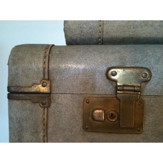 1940s Light Blue Suitcase - Image 8 of 8