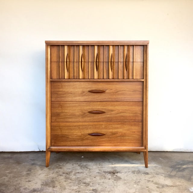 Image of Thomasville Mid-Century Tall Dresser