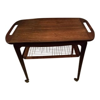 Johannes Andersen Mid-Century Teak Side Table