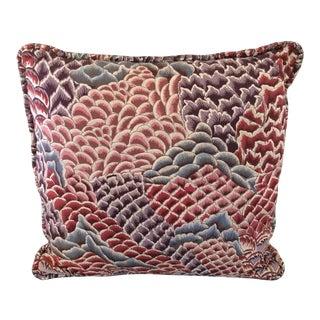 Braquenie Pierre Frey Broderie Le Rocher Pillow