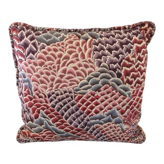 Braquenie Pierre Frey Broderie Le Rocher Pillow