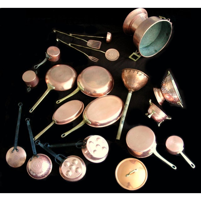 Decorative Copper Cookware Collection - 21 Pieces - Image 2 of 10