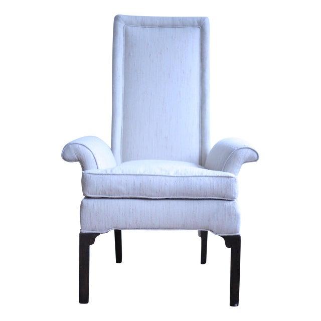 Italian Wingback Chair - Image 1 of 5