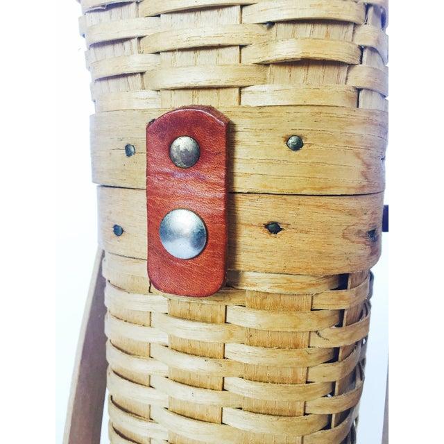 Vintage Wine Basket - Image 6 of 6