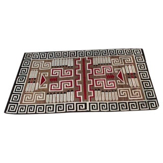 Early 20th Century Navajo Indian Weaving Rug