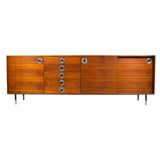 Ico Parisi for Cassina Teak Long Credenza