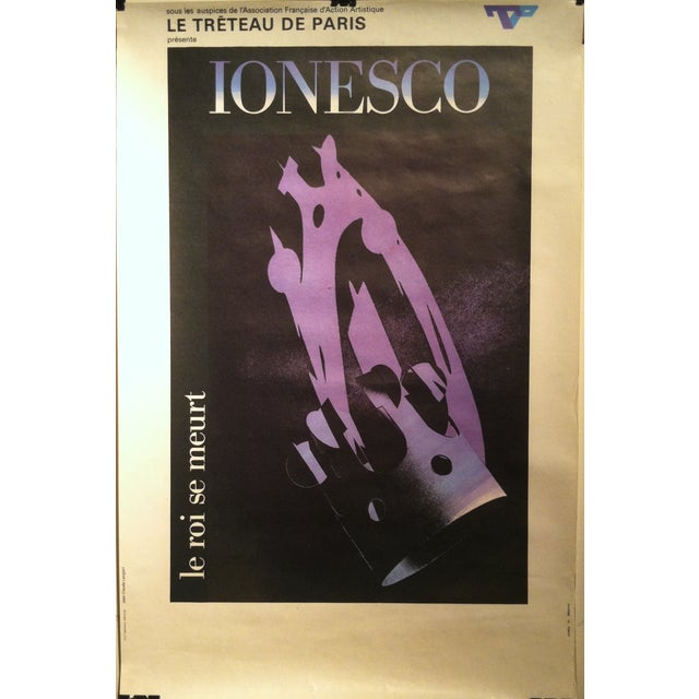 """Jean-Claude Lenglart """"Ionesco"""" French Lithograph - Image 2 of 8"""