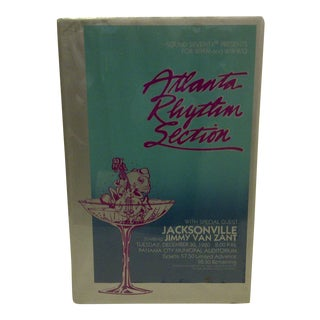Atlanta Rhythm Section Vintage Concert Poster