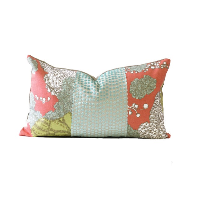 Image of Coral Designer Down Pillow