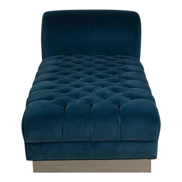 Image of Standard Deep Buttoned Chaise Longue by Talisman Bespoke