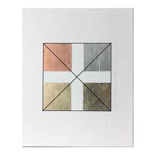 Gilded Squares No. 1 Acrylic Painting