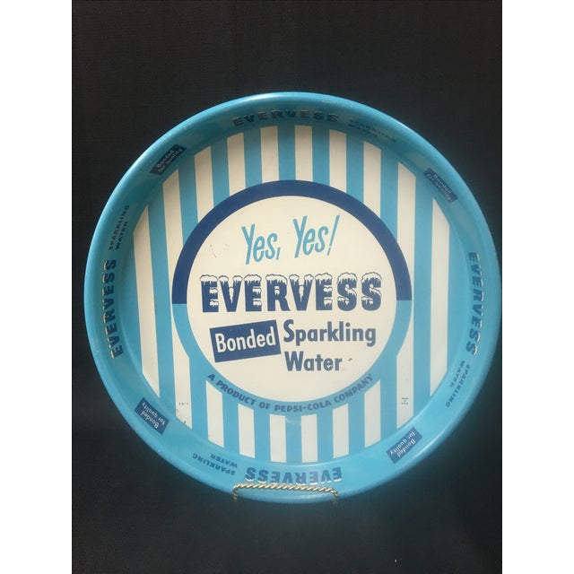 Vintage Advertising Tray, Evervess 1950's - Image 2 of 9