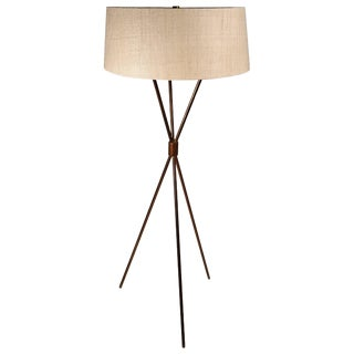 T.H. Robsjohn-Gibbings Tripod Floor Lamp for Hansen