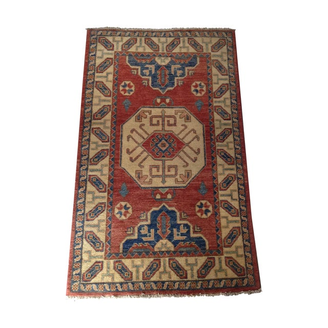 Hand Knotted Wool Rug - 3' x 5' - Image 1 of 7