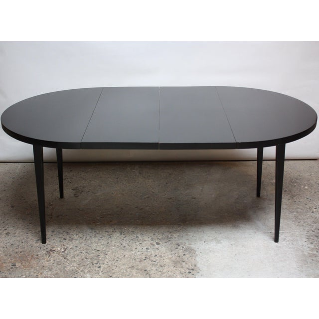 Paul McCobb Planner Group Round Extension Dining Table - Image 5 of 10