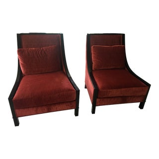 Baker Lounge Chairs- A Pair