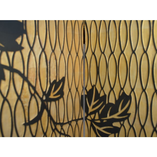 1960s Japanese 4 Panel Screen - Image 4 of 8