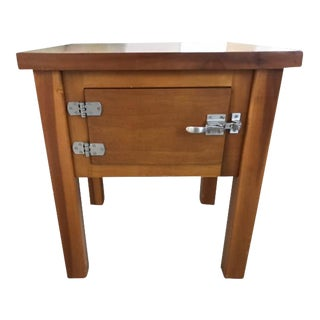 Latch Door Side Table
