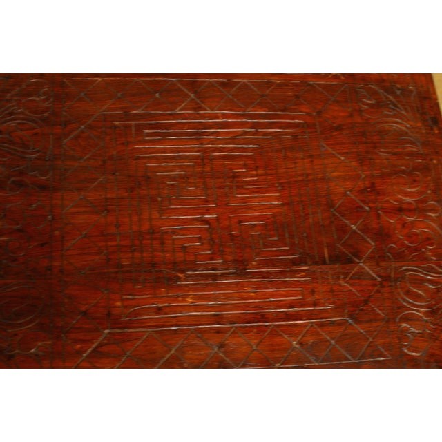 Anglo Indian Carved Low Table - Image 7 of 8