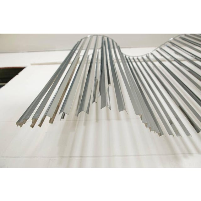 Curtis Jere Silver Kinetic Wall Hanging - Image 5 of 8