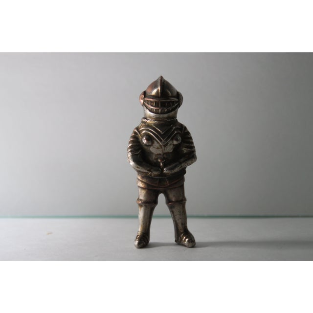 Vintage Silver-Tone Metal Knight Lighter - Image 2 of 6