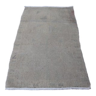 """Wonderful Muted Color Rug - 1'10"""" x 3'5"""""""
