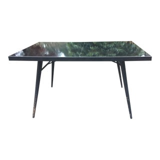Paul McCobb Black Lacquer Dining Table