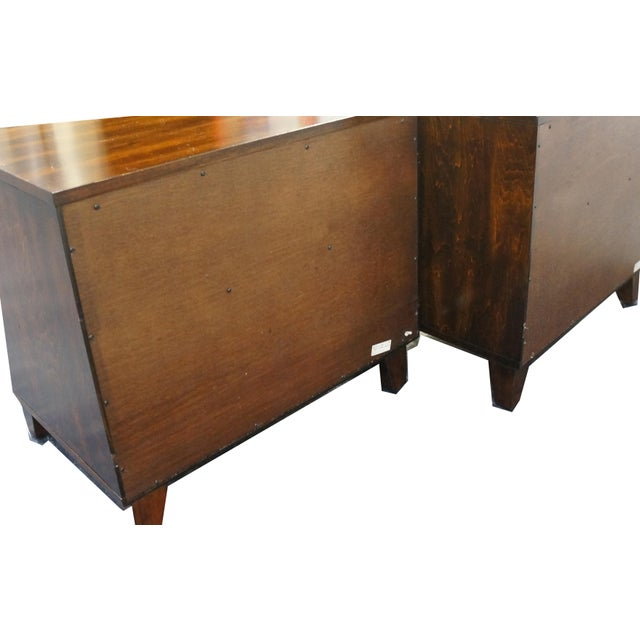 Mid-Century Modern Nightstands- A Pair - Image 4 of 9