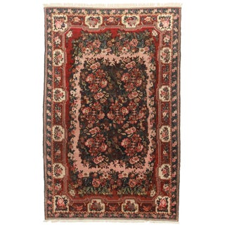 Hand Knotted Persian Baktiari Rug - 7′ × 10′11″