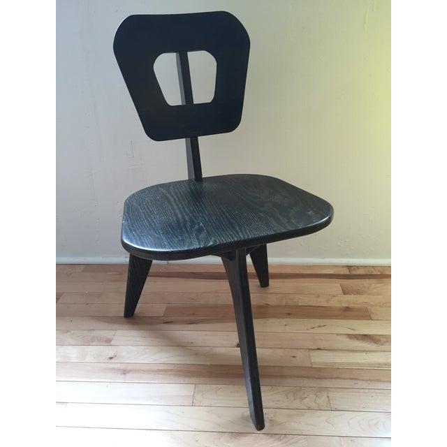 Arthur Collani Vintage 3-Legged Chair - Image 5 of 6