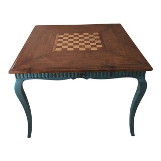 French Country Game Table
