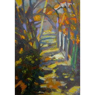 """Path in the Woods"" Original Painting"