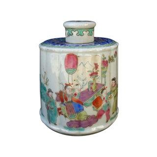 Chinese Harmony Porcelain Jar