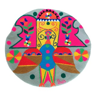 Monteil Style 1970's Mid-Century Pop Art Tapestry