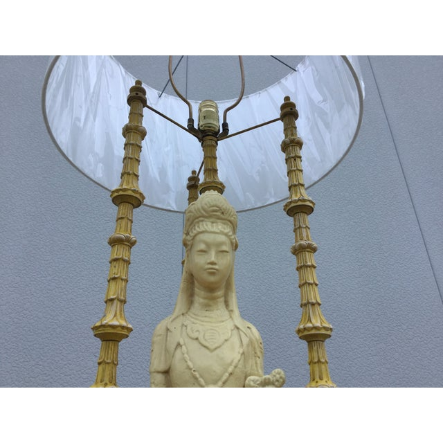 1940's James Mont Style Geisha Table Lamp - Image 9 of 11