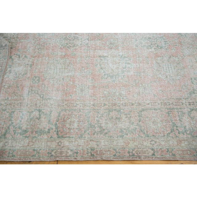 "Image of Distressed Oushak Carpet - 9' X 12'1"""