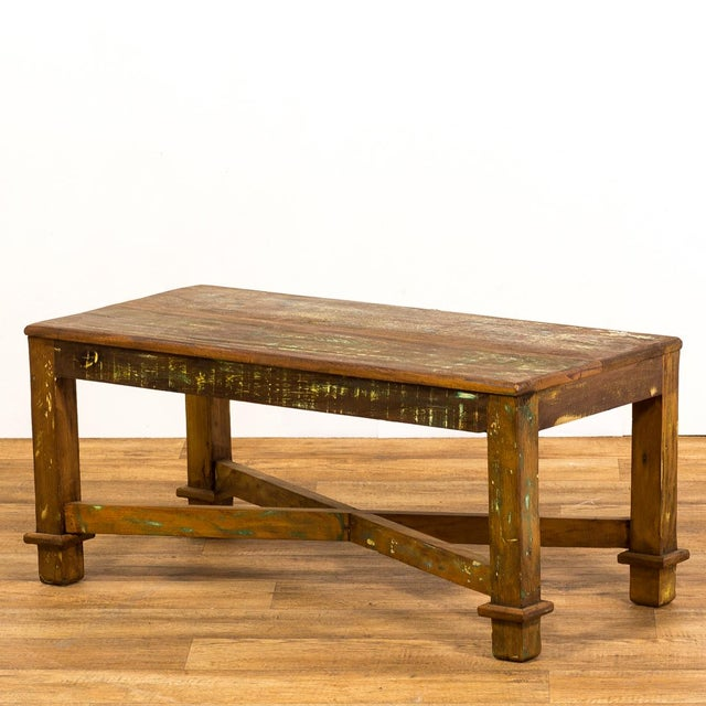 Antique Solid Wood Coffee Table
