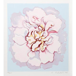 """Pink Camellia From the Stamps Series"" Print"