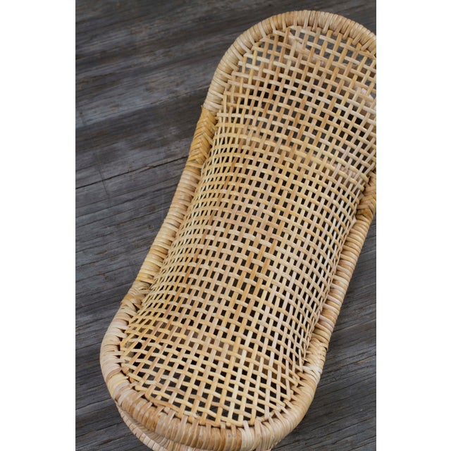 Image of Wicker Curved Head or Footrest