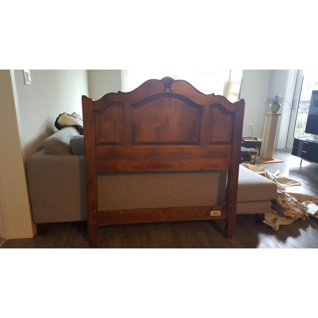 Ethan allen french country twin headboard chairish for Ethan allen country french bedroom