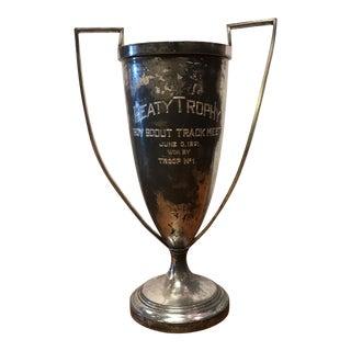 Antique Boy Scout Trophy