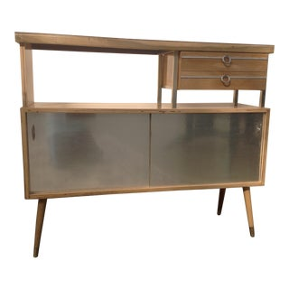 Mid-Century Modern Refurbished Buffet Cabinet