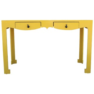 Yellow Formica Writing Desk